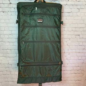 Tumi Bags - $600 TUMI Garment Bi Fold Bag Green 231M3 Travel